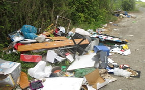 How fly tipping or illegal disposal of toxic waste can be detected and uncovered