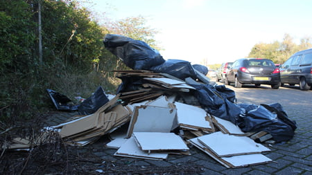 fly tipping detective work
