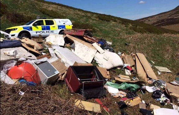 Fly-Tipping Increases During COVID-19 Lockdown Tip Closures