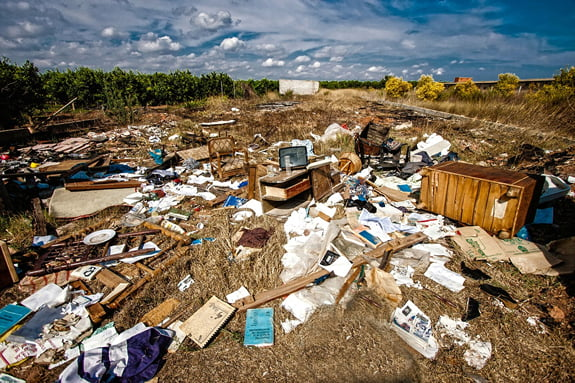 Annual Government Fly Tipping Statistic