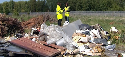 Have you caught or do you need to catch someone in the act of fly-tipping? Let us investigate and get to the truth
