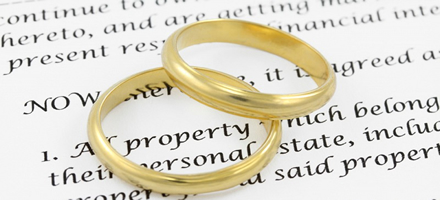 Does your pre-nuptial agreement holf up, is it even valid?